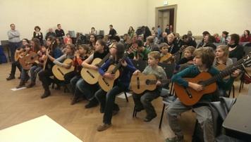 Winterkonzert Gitarrenschule Zauberfichte