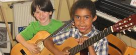 Gitarre lernen in der Gitarrenschule